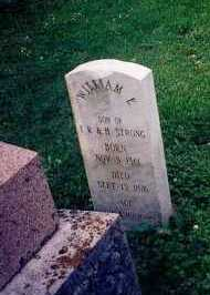 STRONG, WILLIAM E. - Hamilton County, Ohio | WILLIAM E. STRONG - Ohio Gravestone Photos