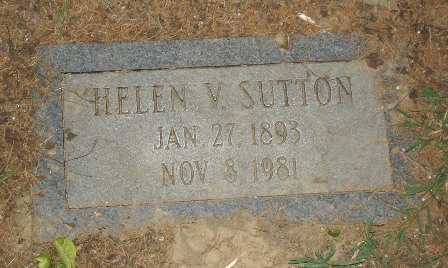 SUTTON, HELEN V. - Hamilton County, Ohio   HELEN V. SUTTON - Ohio Gravestone Photos