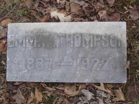 THOMPSON, EMMA - Hamilton County, Ohio | EMMA THOMPSON - Ohio Gravestone Photos