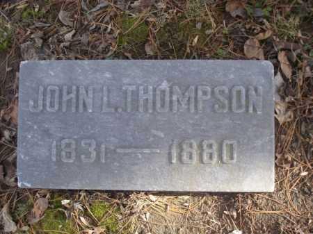 THOMPSON, JOHN - Hamilton County, Ohio | JOHN THOMPSON - Ohio Gravestone Photos