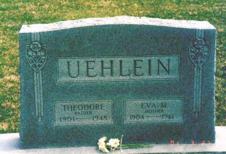 UEHLEIN, EVA - Hamilton County, Ohio | EVA UEHLEIN - Ohio Gravestone Photos