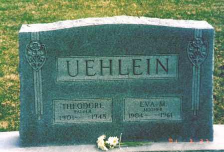 MOSELEY UEHLEIN, EVA - Hamilton County, Ohio | EVA MOSELEY UEHLEIN - Ohio Gravestone Photos