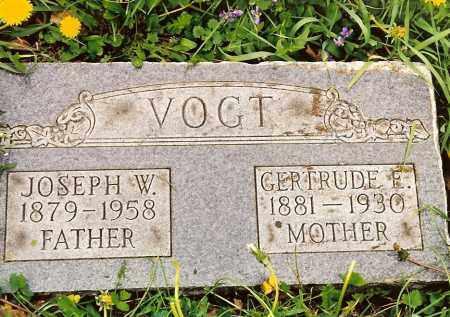 VOGT, GERTRUDE E. - Hamilton County, Ohio | GERTRUDE E. VOGT - Ohio Gravestone Photos