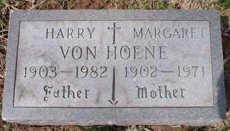 VON HOENE, MARGARET - Hamilton County, Ohio   MARGARET VON HOENE - Ohio Gravestone Photos