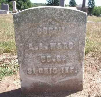 WARD, A. A. - Hamilton County, Ohio | A. A. WARD - Ohio Gravestone Photos