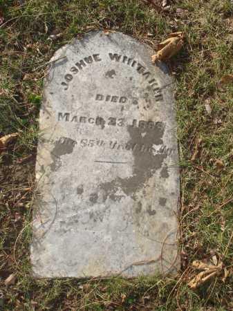 WHITAKER, JOSHUE - Hamilton County, Ohio   JOSHUE WHITAKER - Ohio Gravestone Photos
