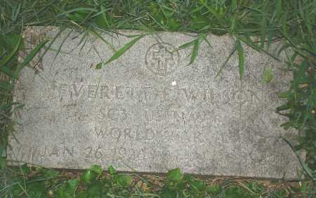 WILSON, EVERETT F. - Hamilton County, Ohio | EVERETT F. WILSON - Ohio Gravestone Photos