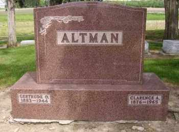 ROBERTS ALTMAN, GERTRUDE OTIS - Hancock County, Ohio | GERTRUDE OTIS ROBERTS ALTMAN - Ohio Gravestone Photos