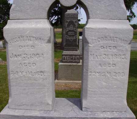 ALTMAN, JACOB - Hancock County, Ohio | JACOB ALTMAN - Ohio Gravestone Photos