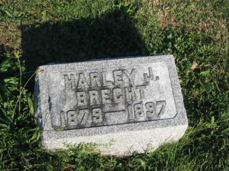 BRECHT, HARLEY - Hancock County, Ohio | HARLEY BRECHT - Ohio Gravestone Photos