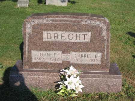 SPAID BRECHT, CARRIE - Hancock County, Ohio   CARRIE SPAID BRECHT - Ohio Gravestone Photos