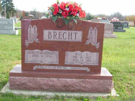 BRECHT, RAY - Hancock County, Ohio | RAY BRECHT - Ohio Gravestone Photos