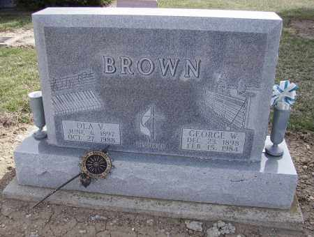 FOLTZ BROWN, OLA V. - Hancock County, Ohio | OLA V. FOLTZ BROWN - Ohio Gravestone Photos