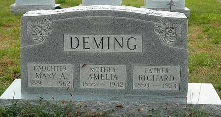 DEMING, RICHARD - Hancock County, Ohio | RICHARD DEMING - Ohio Gravestone Photos