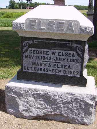 ELSEA, MARY ANN - Hancock County, Ohio | MARY ANN ELSEA - Ohio Gravestone Photos