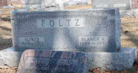 FOLTZ, ALFRED - Hancock County, Ohio | ALFRED FOLTZ - Ohio Gravestone Photos