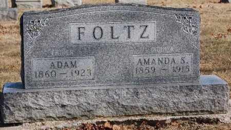 FOLTZ, AMANDA - Hancock County, Ohio | AMANDA FOLTZ - Ohio Gravestone Photos