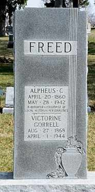 FREED, VICTORINE - Hancock County, Ohio | VICTORINE FREED - Ohio Gravestone Photos