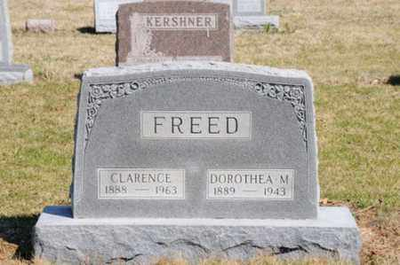 FREED, CLARENCE - Hancock County, Ohio   CLARENCE FREED - Ohio Gravestone Photos