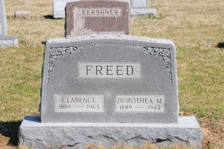 FREED, DOROTHEA M. - Hancock County, Ohio | DOROTHEA M. FREED - Ohio Gravestone Photos