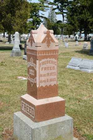 FREED, FREDERIC - Hancock County, Ohio | FREDERIC FREED - Ohio Gravestone Photos