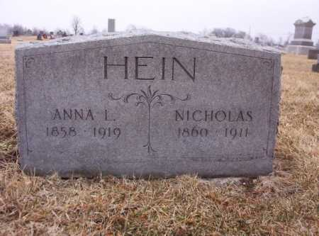 LEIBER HEIN, ANNA L. - Hancock County, Ohio | ANNA L. LEIBER HEIN - Ohio Gravestone Photos