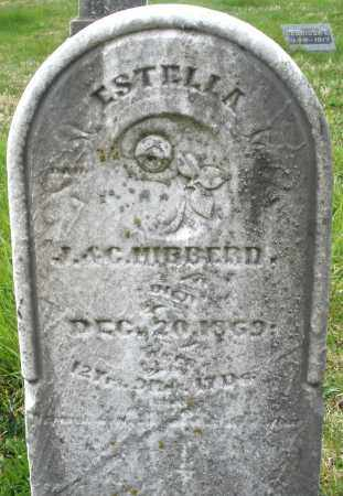 HIBBERD, ESTELLA - Hancock County, Ohio | ESTELLA HIBBERD - Ohio Gravestone Photos