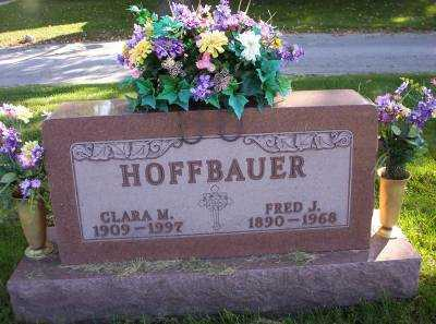 HOFFBAUER, FRED J. - Hancock County, Ohio | FRED J. HOFFBAUER - Ohio Gravestone Photos