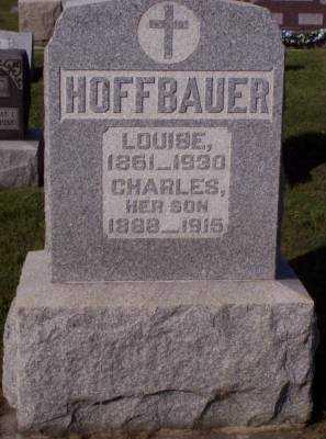 HOFFBAUER, LOUISE - Hancock County, Ohio | LOUISE HOFFBAUER - Ohio Gravestone Photos