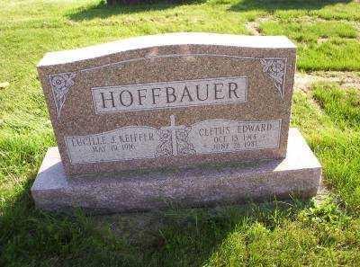 KEIFFER HOFFBAUER, LUCILLE J. - Hancock County, Ohio | LUCILLE J. KEIFFER HOFFBAUER - Ohio Gravestone Photos