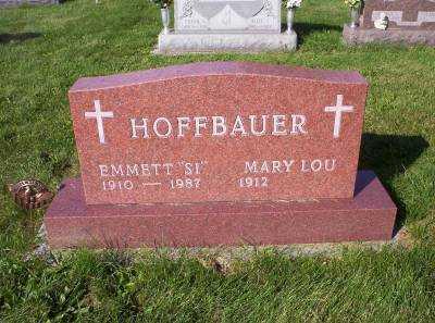HOFFBAUER, MARY LOU - Hancock County, Ohio   MARY LOU HOFFBAUER - Ohio Gravestone Photos