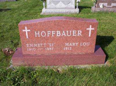 HOFFBAUER, MARY LOU - Hancock County, Ohio | MARY LOU HOFFBAUER - Ohio Gravestone Photos