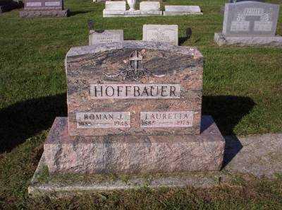 HOFFBAUER, ROMAN J. - Hancock County, Ohio   ROMAN J. HOFFBAUER - Ohio Gravestone Photos