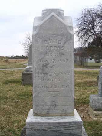 HOPPAS, DAVID - Hancock County, Ohio | DAVID HOPPAS - Ohio Gravestone Photos