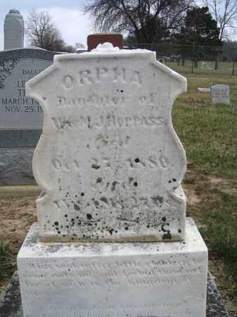 HOPPAS, ORPHA - Hancock County, Ohio   ORPHA HOPPAS - Ohio Gravestone Photos