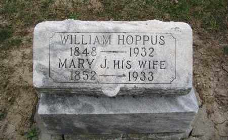 COOPER HOPPAS, MARY JANE - Hancock County, Ohio | MARY JANE COOPER HOPPAS - Ohio Gravestone Photos