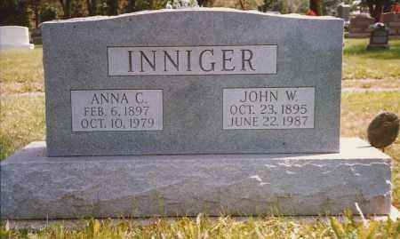 VANSTEIN INNIGER, ANNA - Hancock County, Ohio | ANNA VANSTEIN INNIGER - Ohio Gravestone Photos