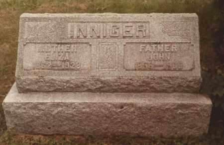 TRUETHART INNIGER, ELIZA - Hancock County, Ohio | ELIZA TRUETHART INNIGER - Ohio Gravestone Photos
