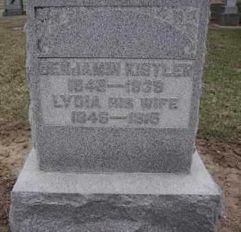 KISTLER, LYDIA - Hancock County, Ohio | LYDIA KISTLER - Ohio Gravestone Photos