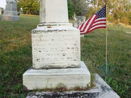 KLECKNER, ABSALOM E. - Hancock County, Ohio | ABSALOM E. KLECKNER - Ohio Gravestone Photos