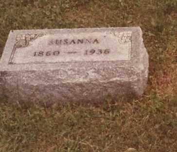 INNIGER KRICHBAUM, SUSANNA - Hancock County, Ohio   SUSANNA INNIGER KRICHBAUM - Ohio Gravestone Photos