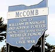 MCCOMB, SIGN - Hancock County, Ohio | SIGN MCCOMB - Ohio Gravestone Photos