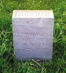 THOMAS MYERS, LYDIA  JANE - Hancock County, Ohio | LYDIA  JANE THOMAS MYERS - Ohio Gravestone Photos