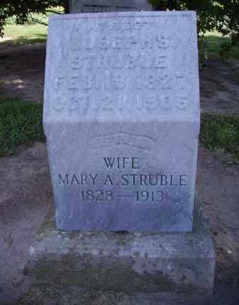 STRUBLE, MARY A. - Hancock County, Ohio | MARY A. STRUBLE - Ohio Gravestone Photos