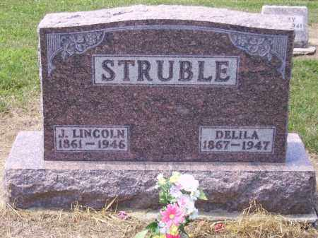 STRUBLE, JOSEPH LINCOLN - Hancock County, Ohio | JOSEPH LINCOLN STRUBLE - Ohio Gravestone Photos