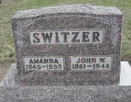 SWITZER, JOHN W. - Hancock County, Ohio   JOHN W. SWITZER - Ohio Gravestone Photos