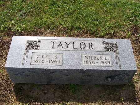 TAYLOR, WILBUR - Hancock County, Ohio   WILBUR TAYLOR - Ohio Gravestone Photos