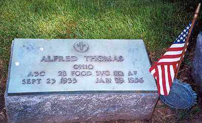 THOMAS, ALFRED - Hancock County, Ohio   ALFRED THOMAS - Ohio Gravestone Photos