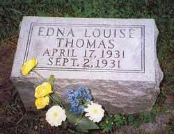THOMAS, EDNA LOUISE - Hancock County, Ohio | EDNA LOUISE THOMAS - Ohio Gravestone Photos