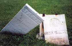 THOMAS, JANE - Hancock County, Ohio | JANE THOMAS - Ohio Gravestone Photos